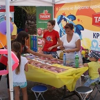 Тандем и Natiоnal Geographic KIDS се забавляваха заедно с малките откриватели във Варна Thumbnail Image
