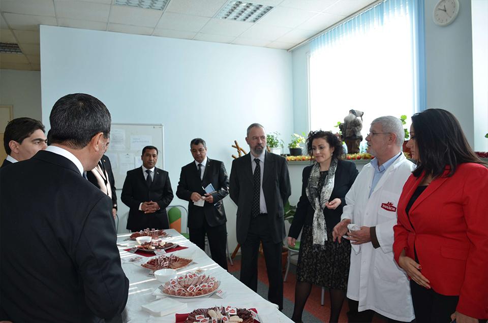 """Официална делегация от Туркменистан и български министри посетиха """"Тандем"""" Image 1"""