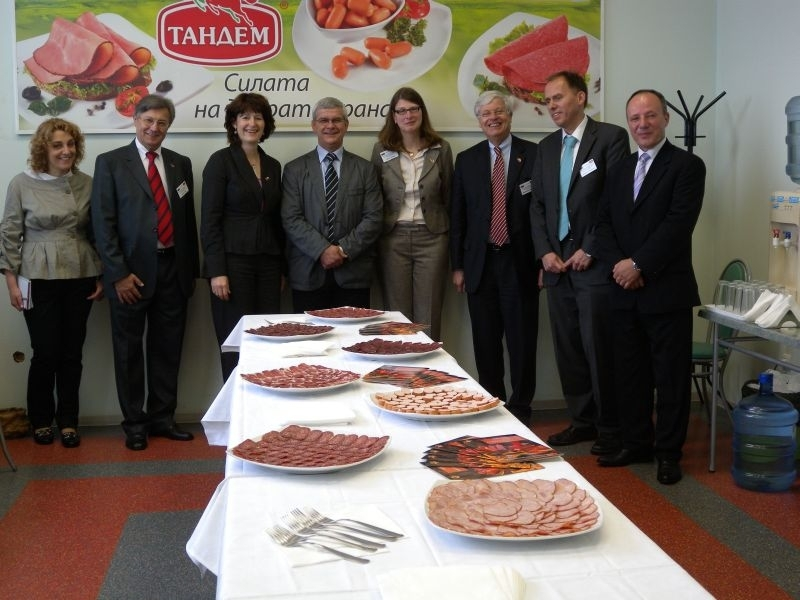 """Министърът на земеделието на немската провинция Долна Саксония посети """"Тандем"""" Image 0"""