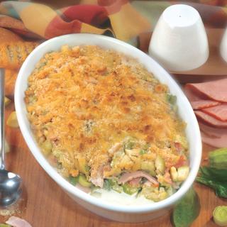 Вкусно лятно ястие с тиквички, шунка и спанак Thumbnail Image