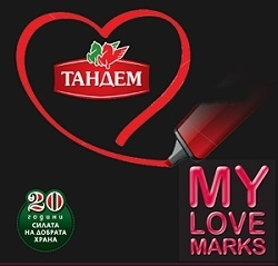 """Марка Тандем е сред 6-те финалисти  в категориите  """"Месни продукти"""" и """"Био продукти"""" на потребителската класация """"Любимите марки"""" Image 0"""