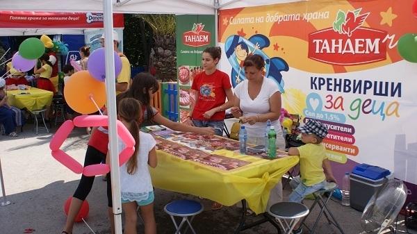 Тандем и Natiоnal Geographic KIDS се забавляваха заедно с малките откриватели във Варна Image 0