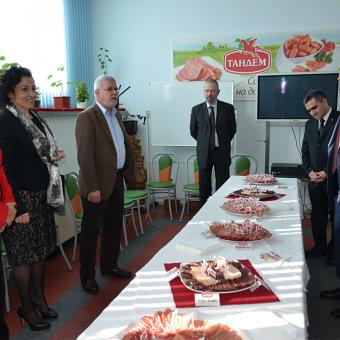 """Официална делегация от Туркменистан и български министри посетиха """"Тандем"""" Thumbnail Image"""