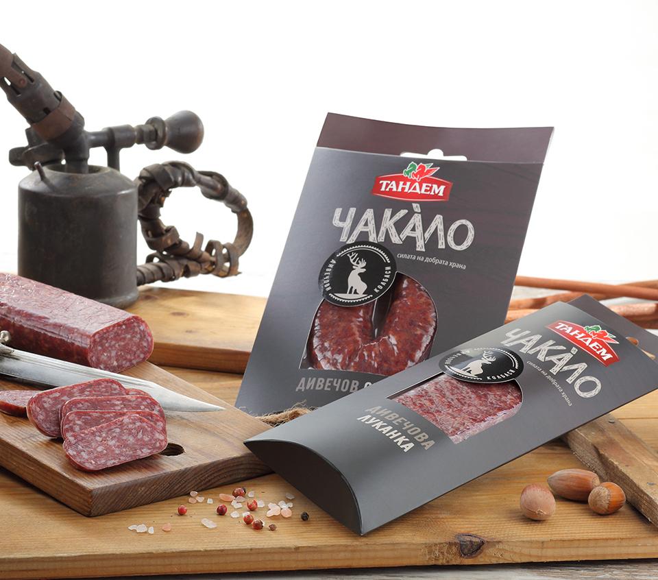 """Серия дивечови продукти """"Чакáло"""" от Тандем! Image 0"""