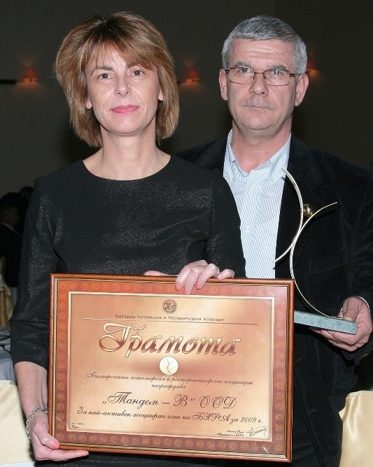 """""""Тандем"""" получи награда на годишните награди на БХРА Image 0"""
