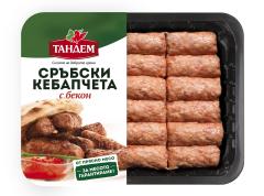 Сръбски кепабчета с бекон image