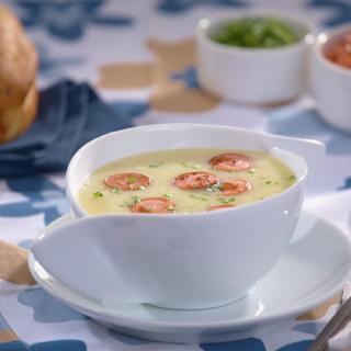 Картофена крем супа с кренвирши  Thumbnail Image