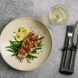 Печена риба с луканков салам Средна гора Тандем Thumbnail Image