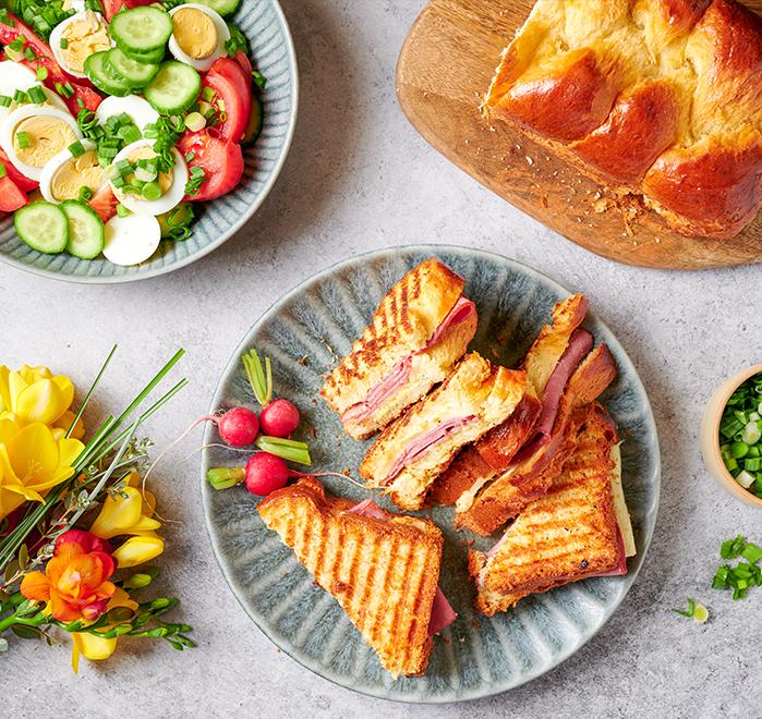 Козуначен сандвич с Телешка шунка Royal Image 0