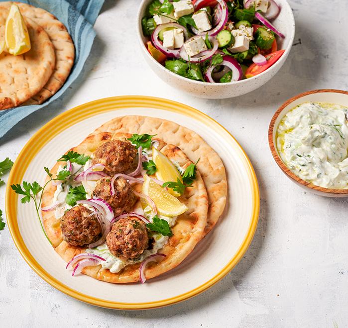 Гръцки кюфтенца с фета сирене и Телешка кайма от Тандем Image 0