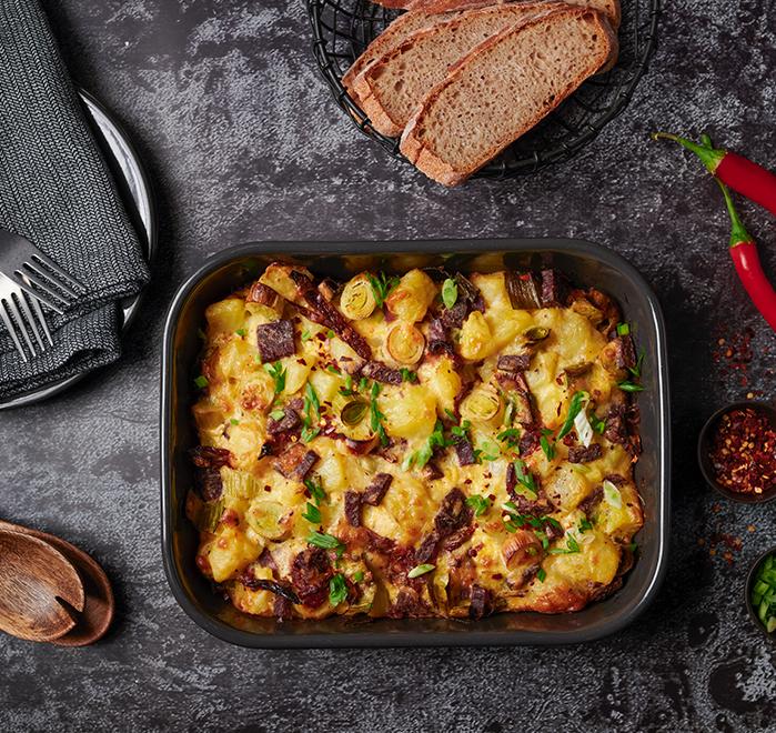 Печени картофи с домашна саздърма Тандем Image 0